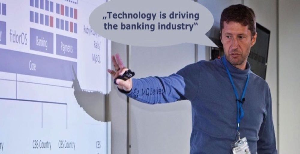 Technology is driving the banking industry